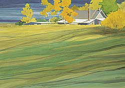 #134 ~ Thomson - Untitled - Farmhouse in the Field