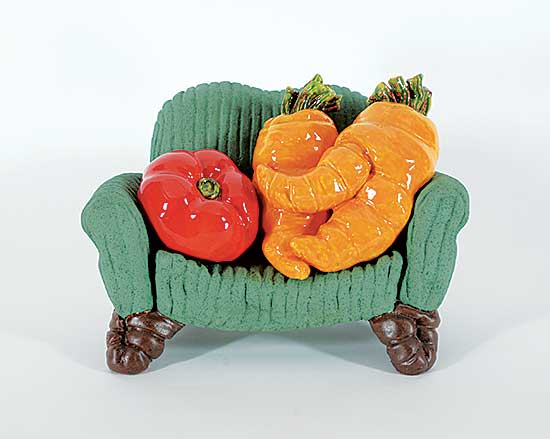 #201 ~ Cicansky - Untitled - Cuddling Carrots with Tom