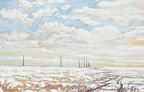 #204 ~ Coffey - Pole Road and Melting Snow