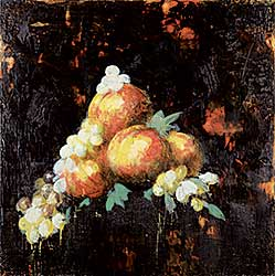 #235 ~ Scherman - Peaches Still Life