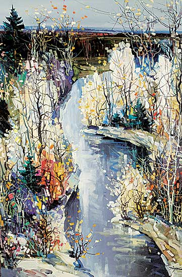#412 ~ Chan - Untitled - Winding Stream