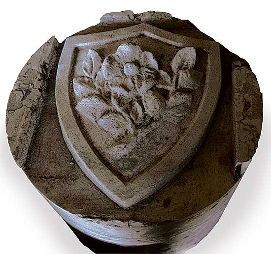 #521 ~ School - English Rose Crest from Centre Street Bridge
