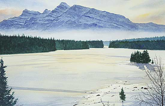 #1313 ~ Smith - Untitled - Two Jack Lake